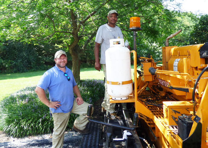 Slayden's is your asphalt paving riprap erosion control, excavator contractors and hauling specialists in easton md.