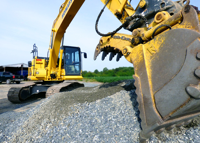 Residential and commercial excavating contractors in easton md