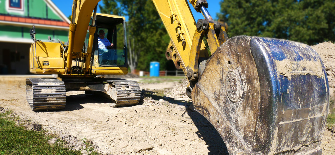 Slayden's has 20 years of experience in excavation work.