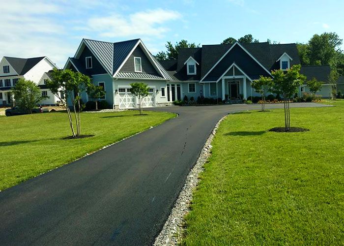 We can help protect your property with riprap erosion control and living landscapes.