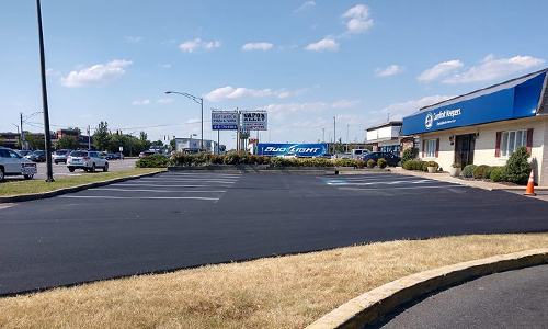 Asphalt paving is our speciality.