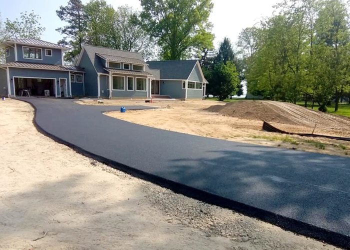 Commercial and residential asphalt paving is easy with our asphalt contractors.