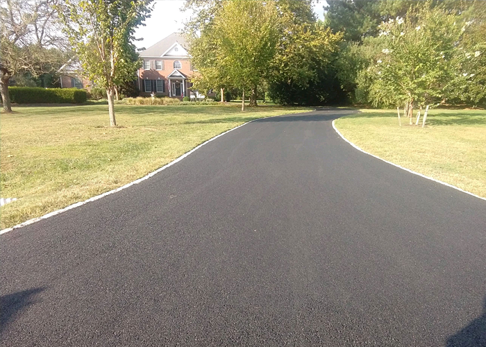 Commercial asphalt paving in St Michaels, MD.