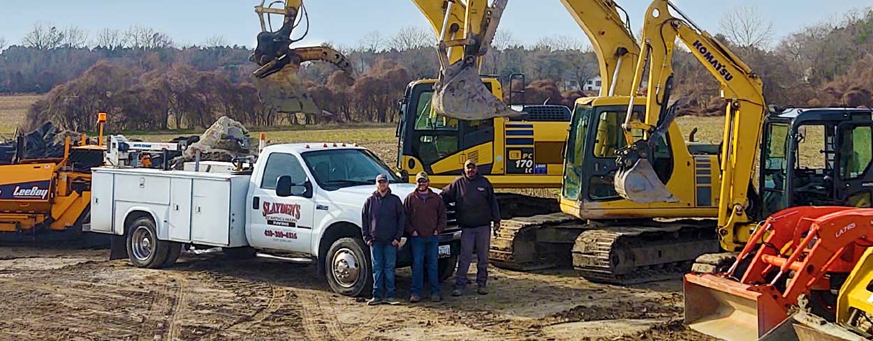 Slayden's Hauling & Excavating LLC is fully licensed and insured.