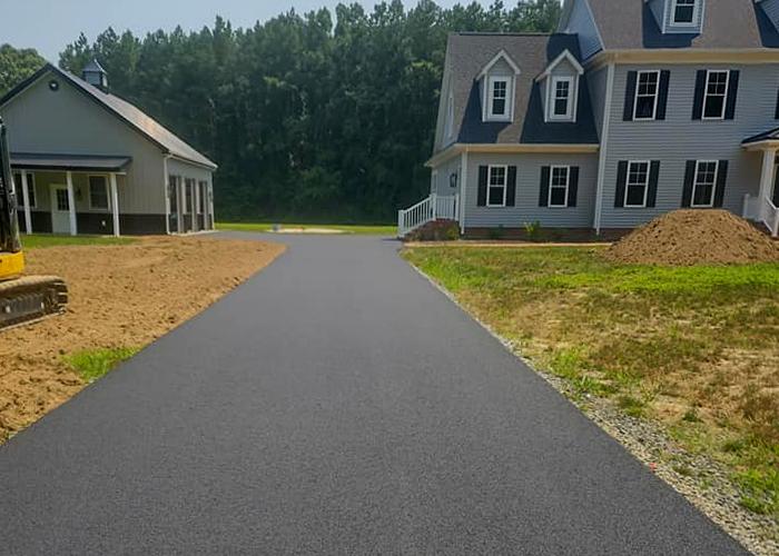 Commercial asphalt paving in St Michaels, MD.